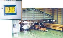 加圧式木材防腐処理設備
